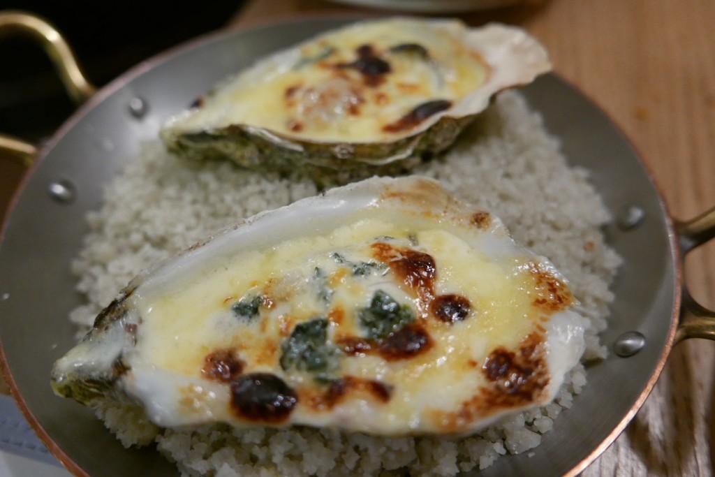 Huîtres gratinées © GP