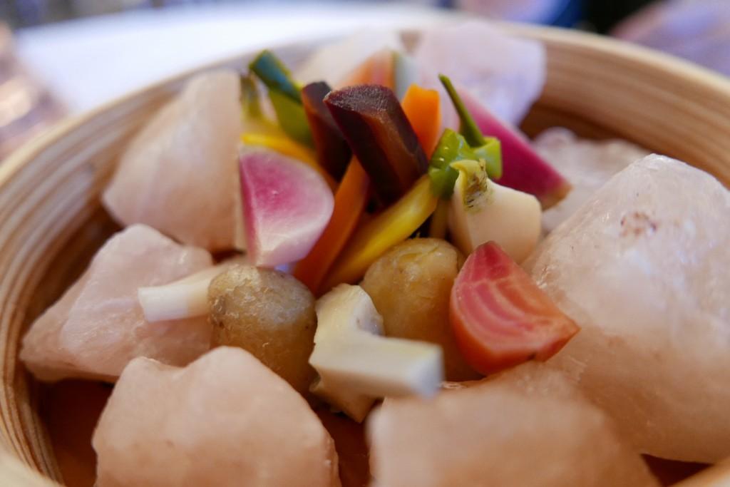 Légumes et sel de l'Himalaya © GP