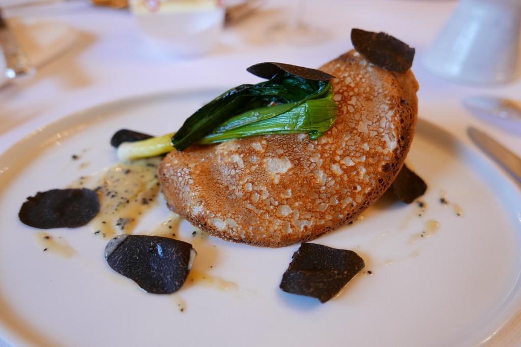 Saint-jacques et truffes © GP