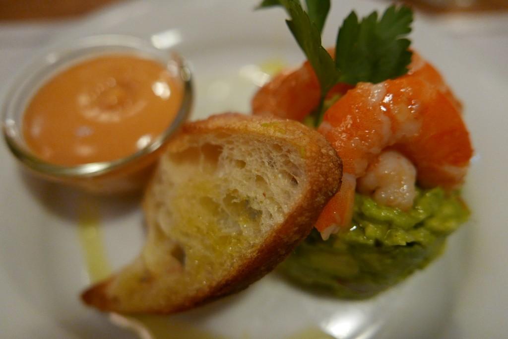 Avocat et crevettes cocktail © GP