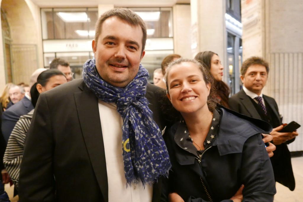 Jean-François et Elodie Piège © GP