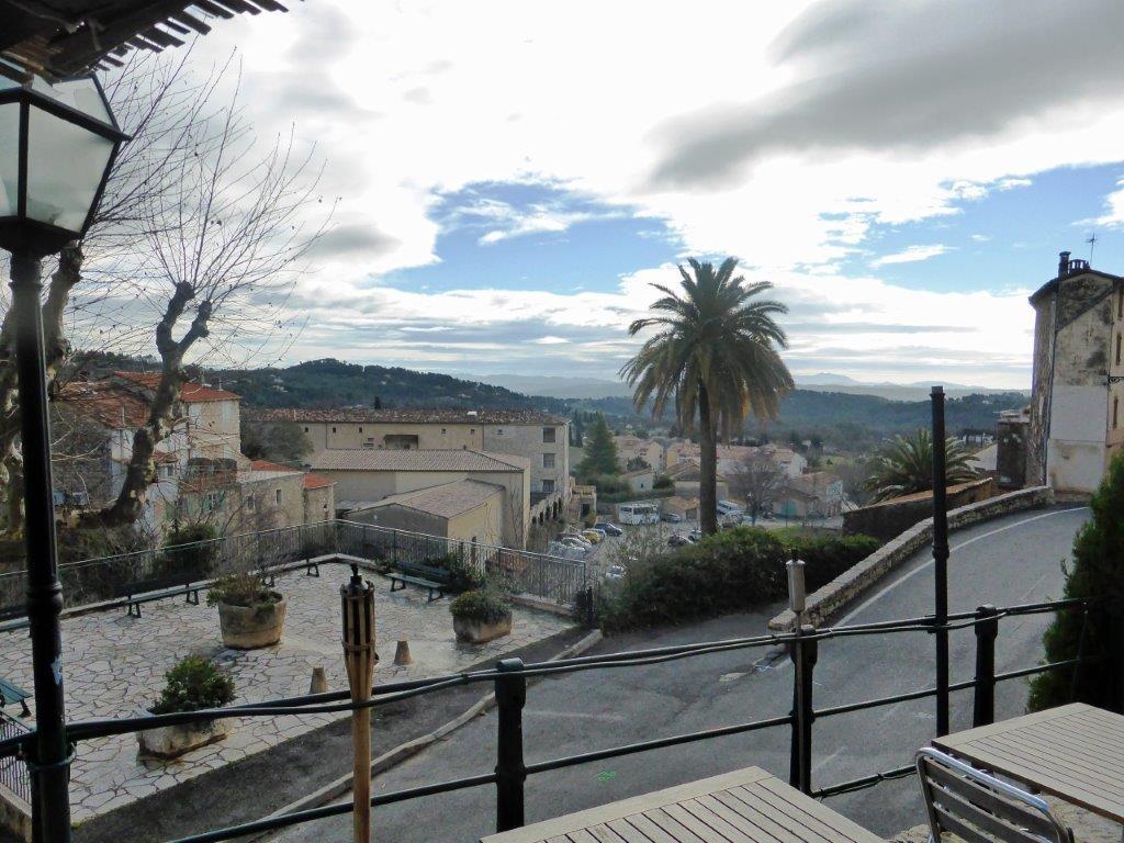 Vue de la terrasse ©AA