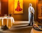 Guy Savoy et el champagne ©P-E Raton