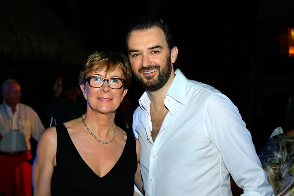 Dominique Loiseau et Cyril Lignac ©DR
