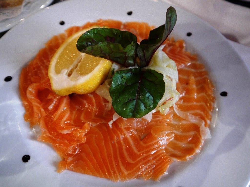 Gravlax de saumon ©AA