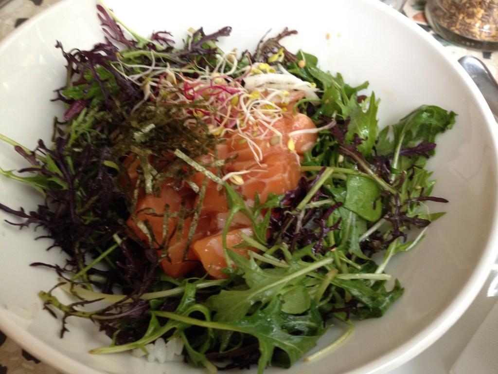 Chirashi de saumon