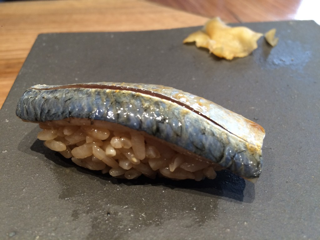 Sushi de sardine © GP