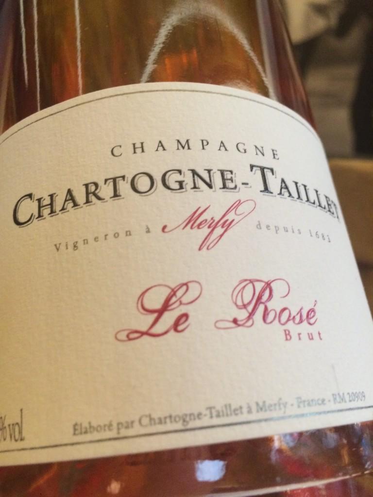 Chartogne-Taillet rosé © GP