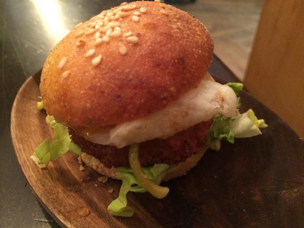 MIni burger de pied de cochon © GP