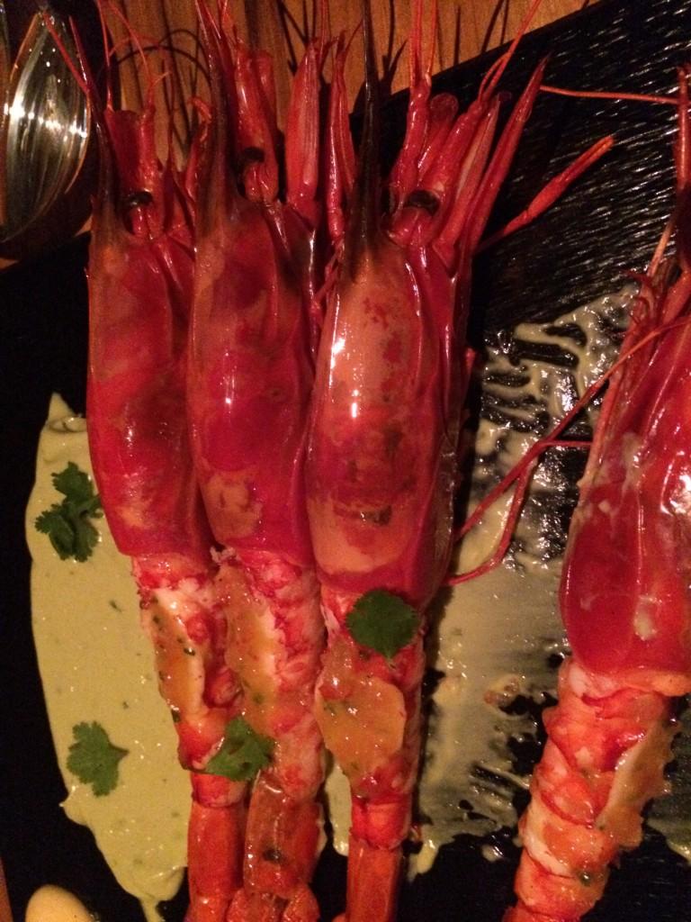 Cocktail de crevettes royales au guacamole © GP