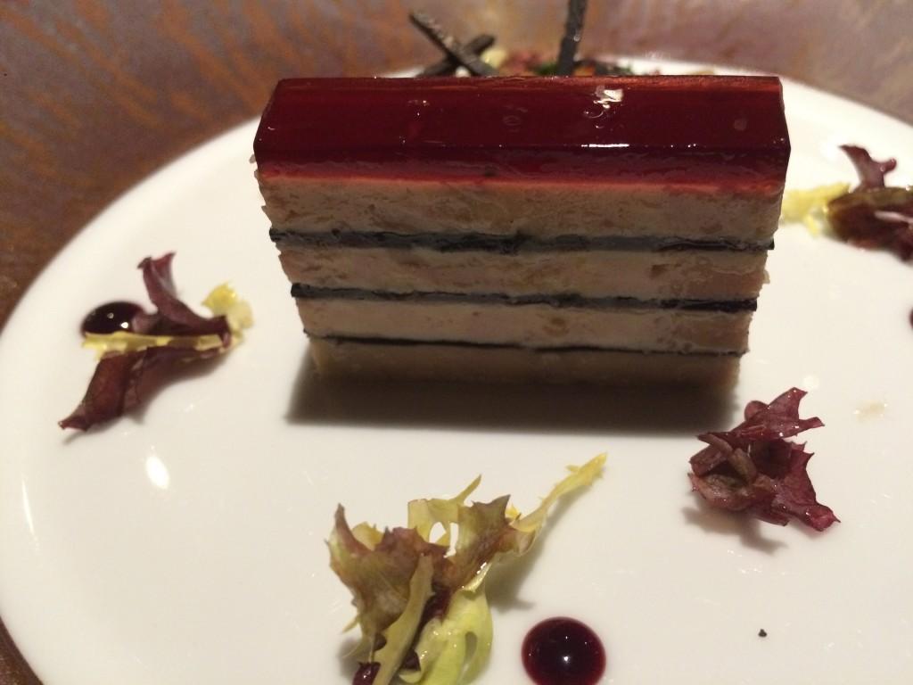 Foie gras et truffes comme un opéra © GP