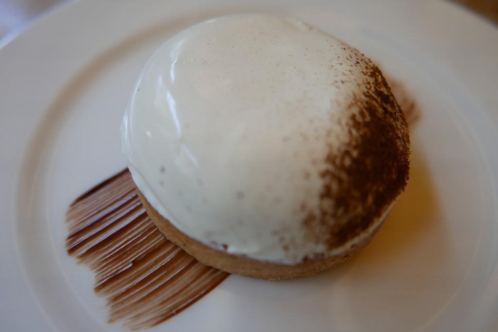 Tarte à la vanille © GP