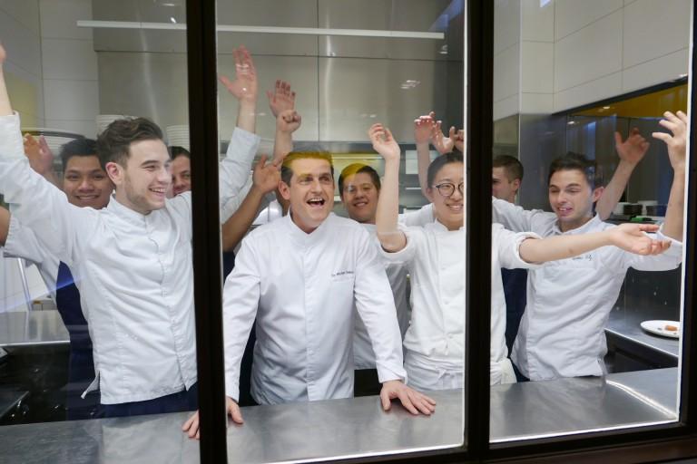 William et son quipe for Ze kitchen galerie paris france