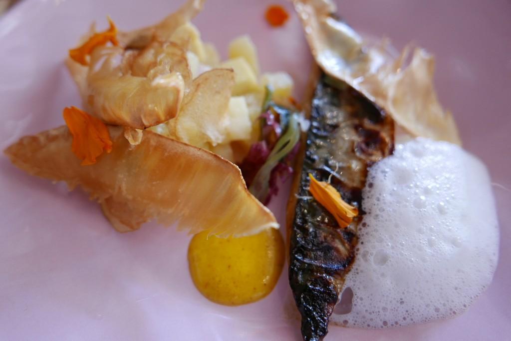 Filet de maquereau canne/moutarde © GP