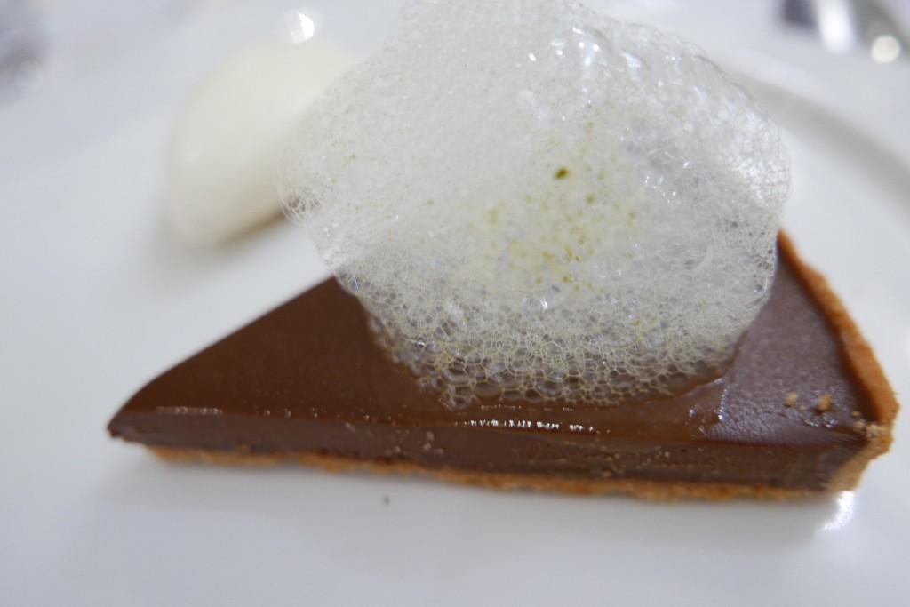 Tarte au chocolat et câpres © GP