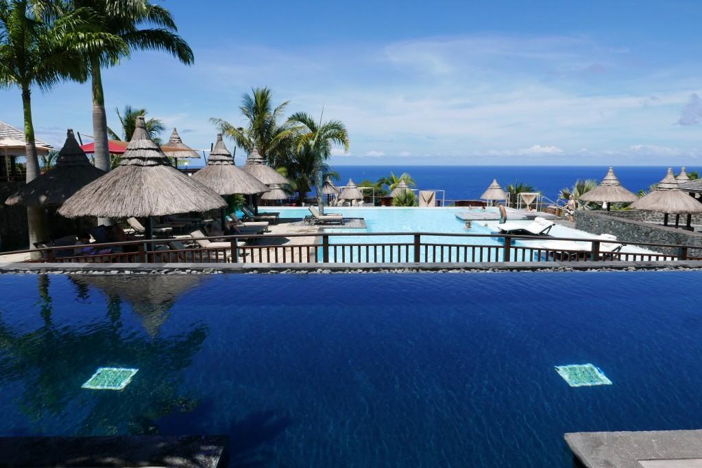 Vue de la piscine © GP