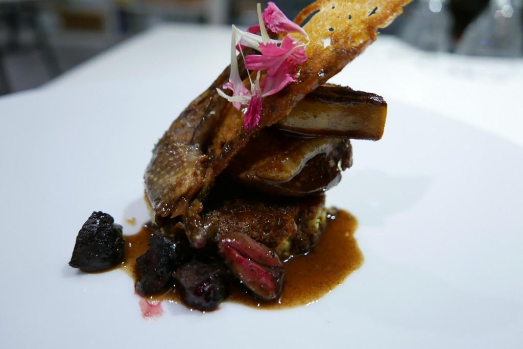 Pigeon et foie gras © GP