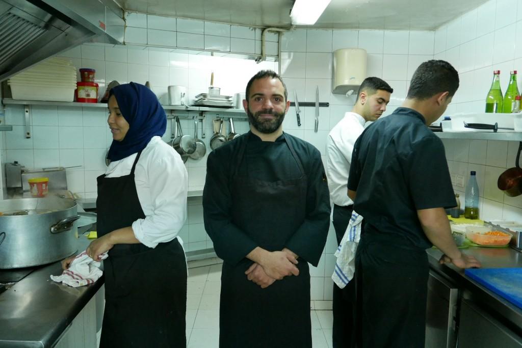 Taki Kabbaj en cuisine © GP