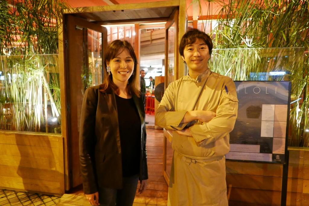 Noëlle et Yusuke Furukawa ©GP