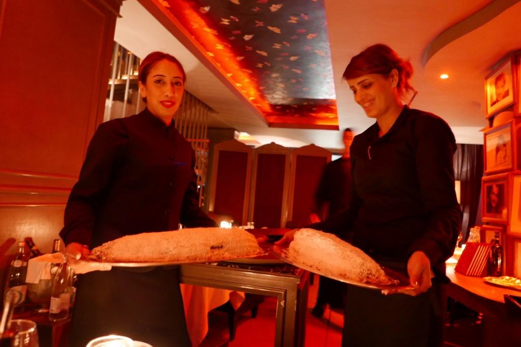Service du bar au sel © GP