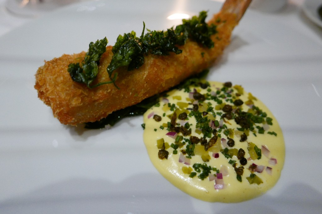 Merlan frit sauce tartare ©GP
