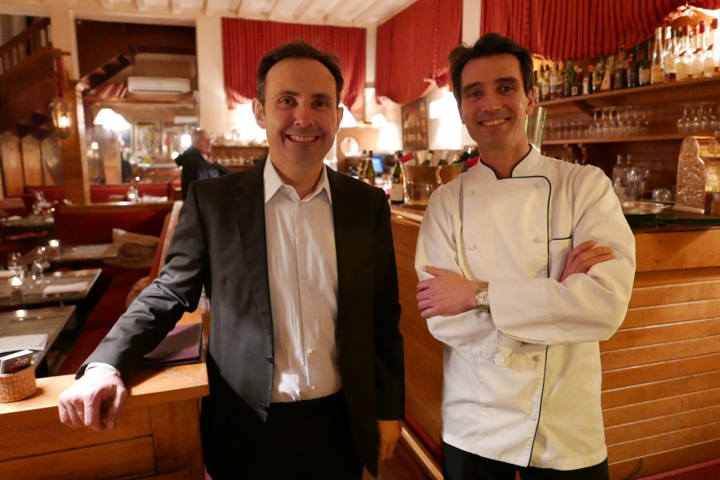 Jean-Frédéric Guidoni et Romain Mazet © GP