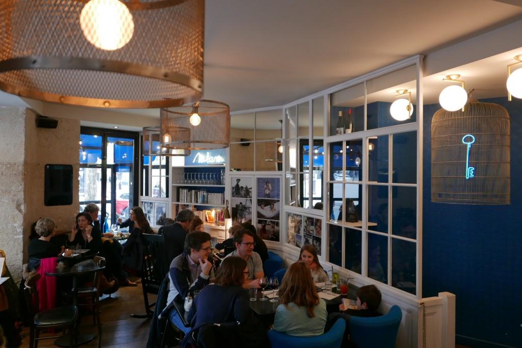 La maison bleue restaurant paris 10e escale la maison - Belle maison restaurant paris ...
