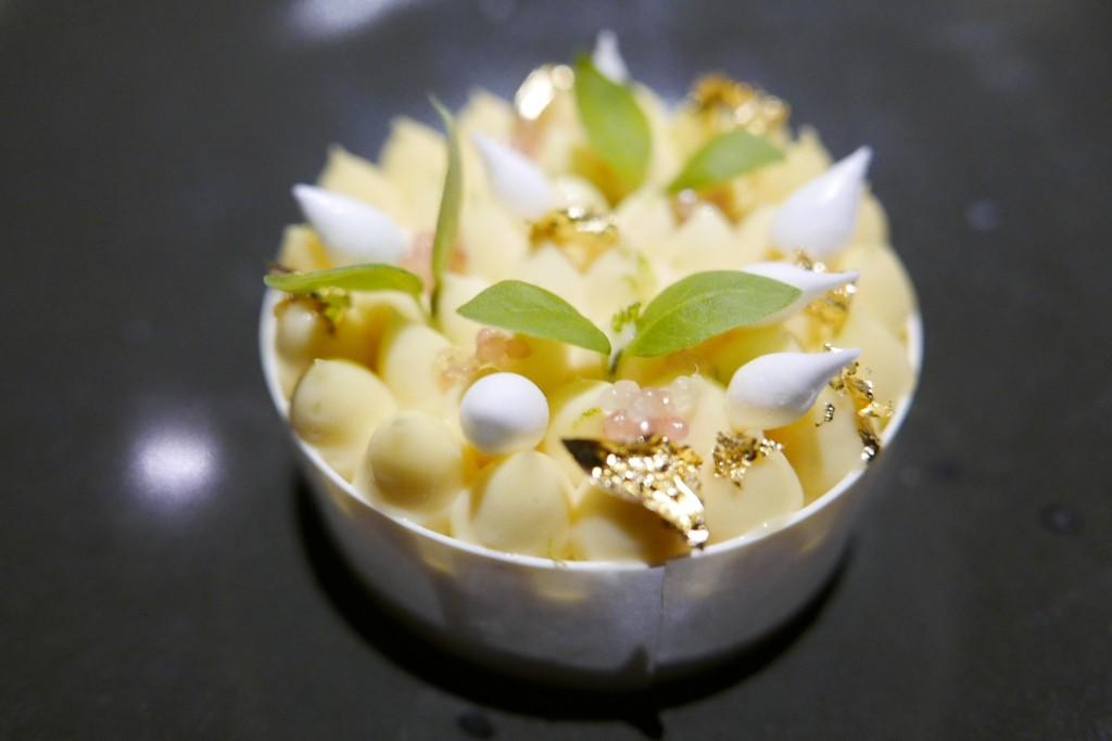 Crémeux citron rafraîchi au yuzu © GP