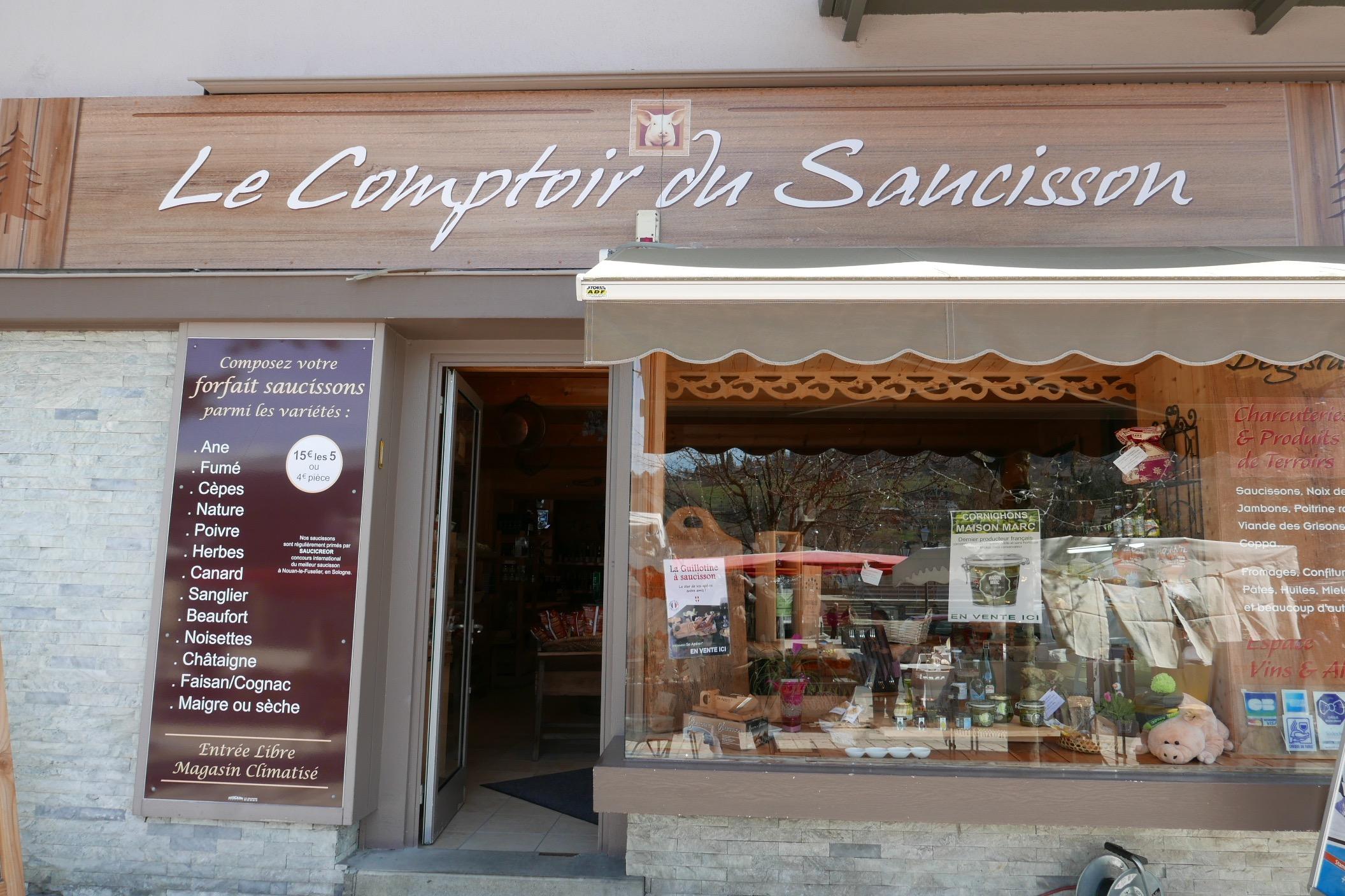 Le comptoir du saucisson charcutier saint gervais les - Comptoir gourmand toulouse ...