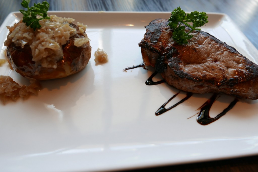 Foie de veau à l'échalote © GP
