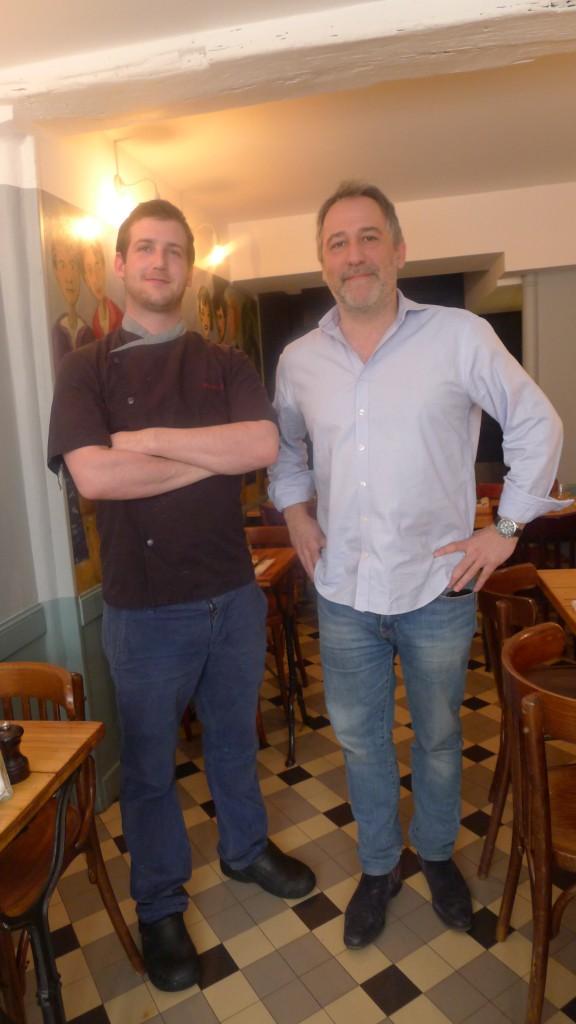 Nicolas Girard et Laurent Segall © JPE