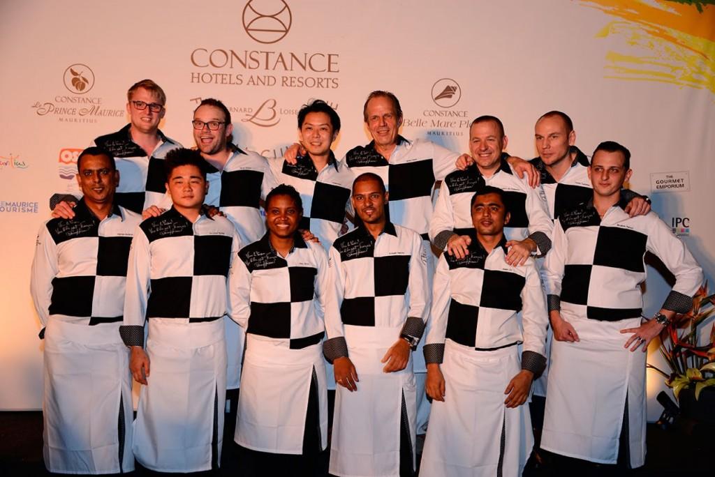 Les chefs étoilés et les chefs des îles de La onzième édition du Festival Constance Bernard Loiseau ©TK
