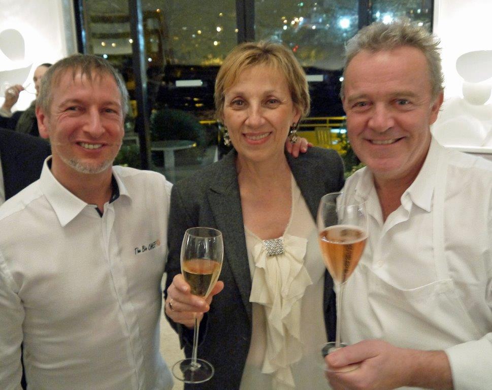 Paolo, Daniele et Alain ©AA