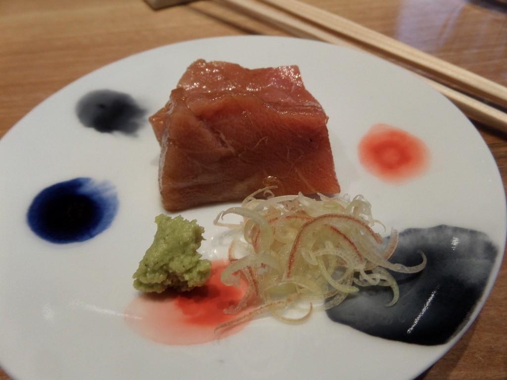 Thon rouge mariné sauce soja © GP