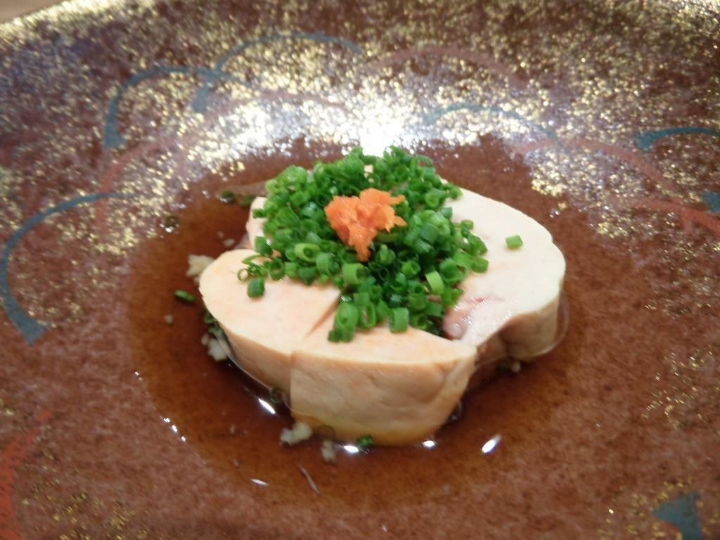 Foie de lotte sauce ponzu © GP