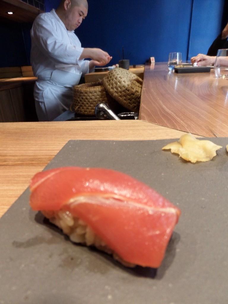 Sushi de thon gras © GP