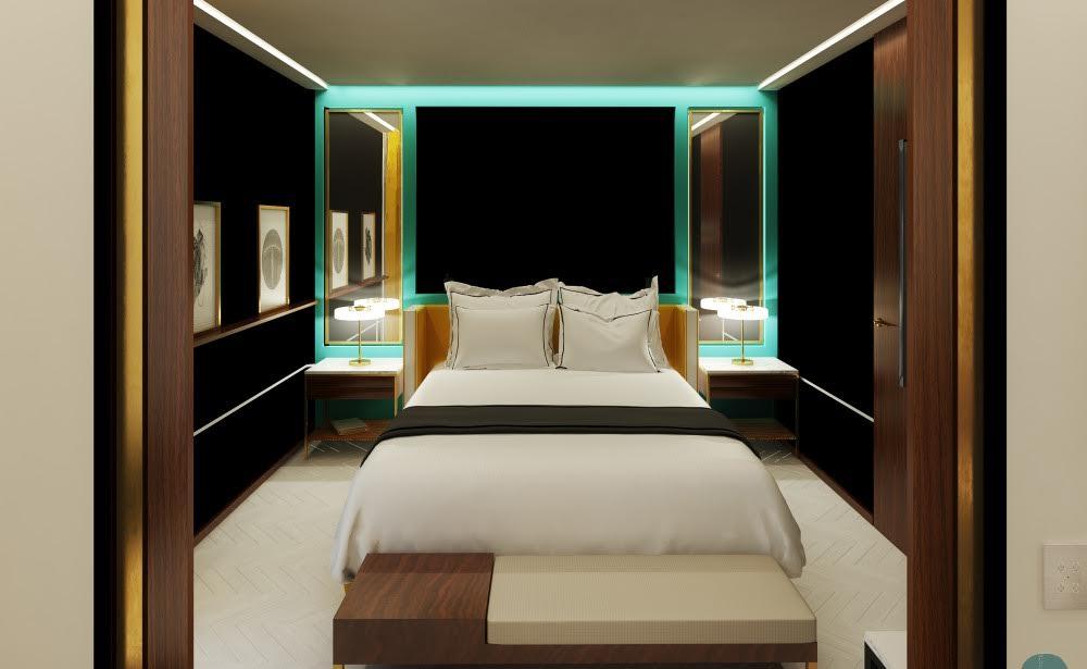 Une chambre du Roch Hotel © Roch Hotel & Spa