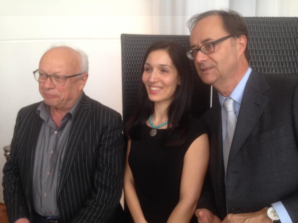 Andre Bercoff, Delphine Minoui, Gilles Brochard ©AN