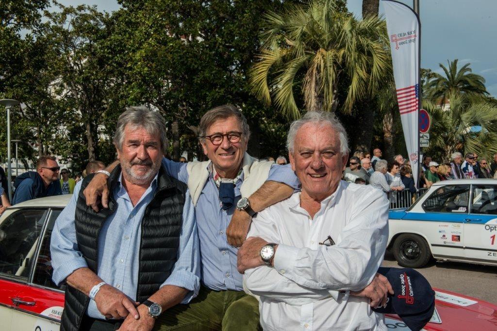 Michel Chabran, J-P Lacombe, Michel Rostang © AA