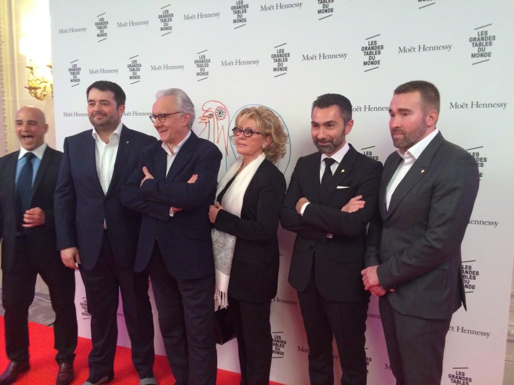 JF Piège, A. Ducasse, M. Trama, D. Sinapian, S. Schaal © GP