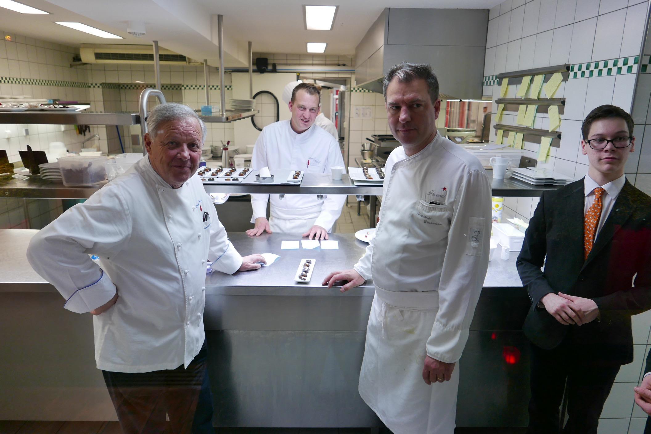 Georges blanc et sa fille lara le blog de gilles pudlowski les pieds dans le plat - Cours de cuisine georges blanc ...