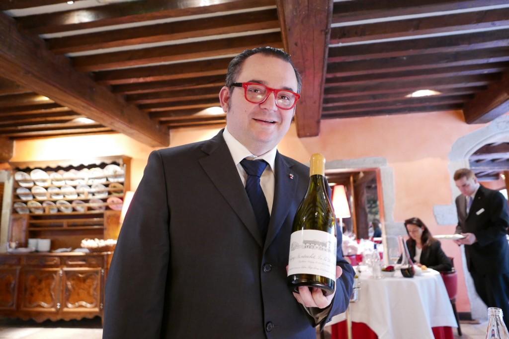 Fabrice Sommier au service des vins © GP