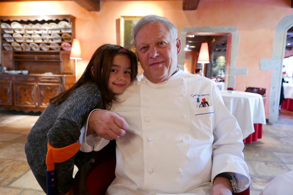 Georges Blanc et sa fille Lara © GP