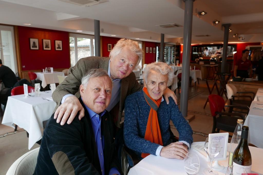 Georges Blanc, Georges Duboeuf & GP © GP