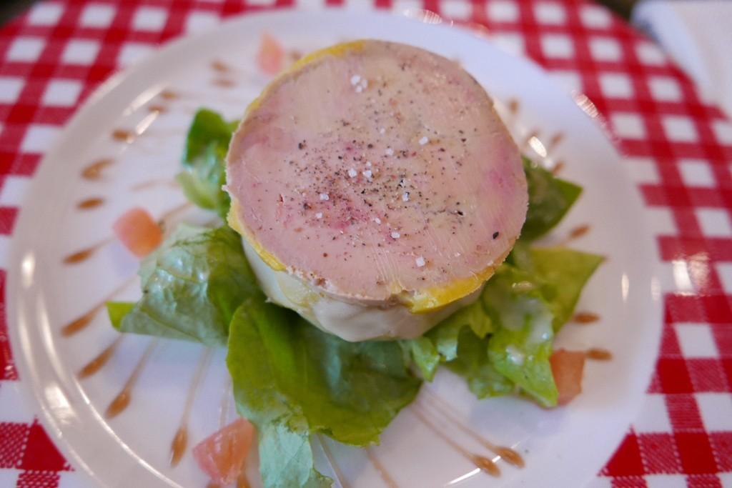 Fonds d'artichaut au foie gras © GP