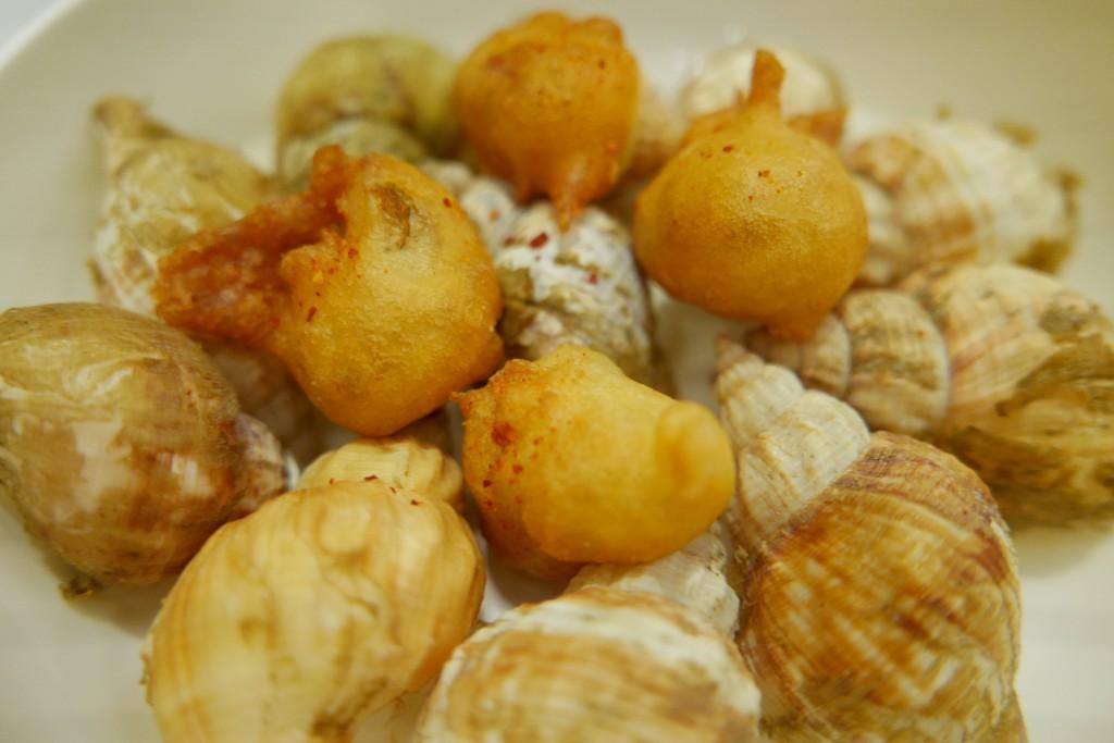 Bulots en tempura © GP