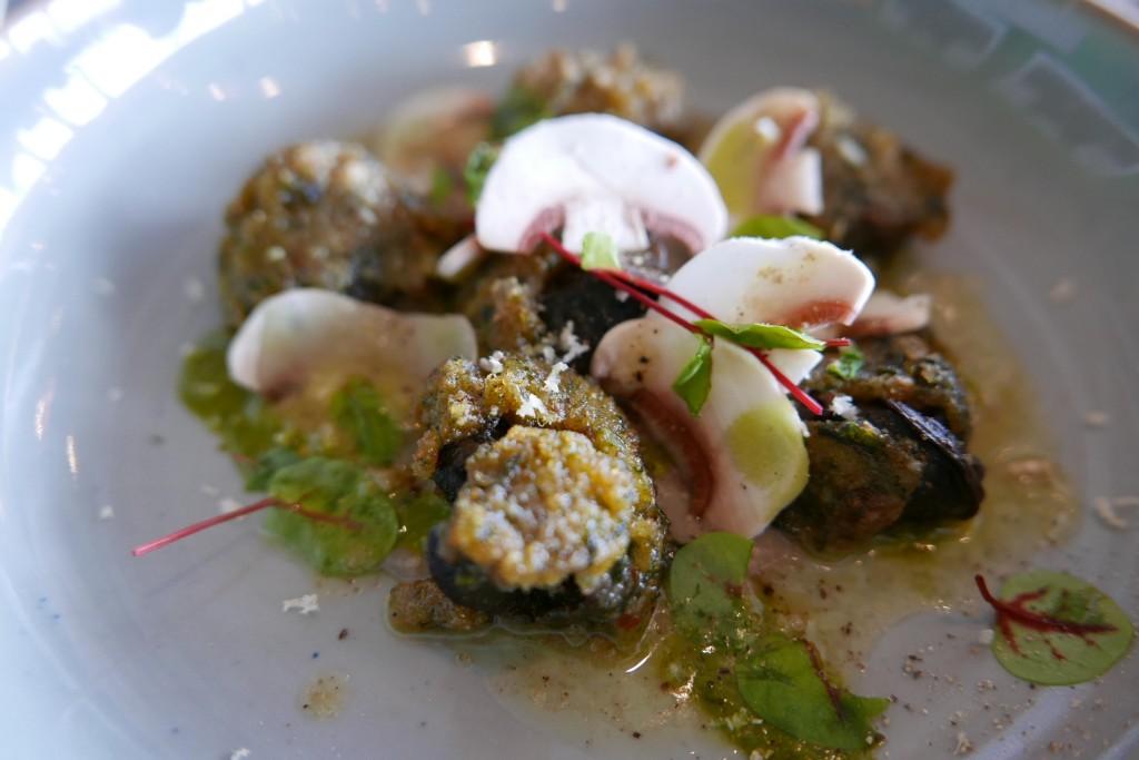 Escargots à l'oseille et raifort ©GP