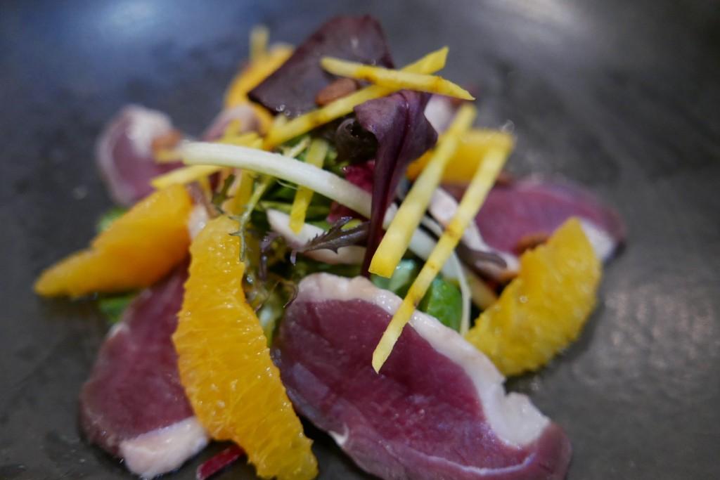 Filet de canard aux agrumes © GP
