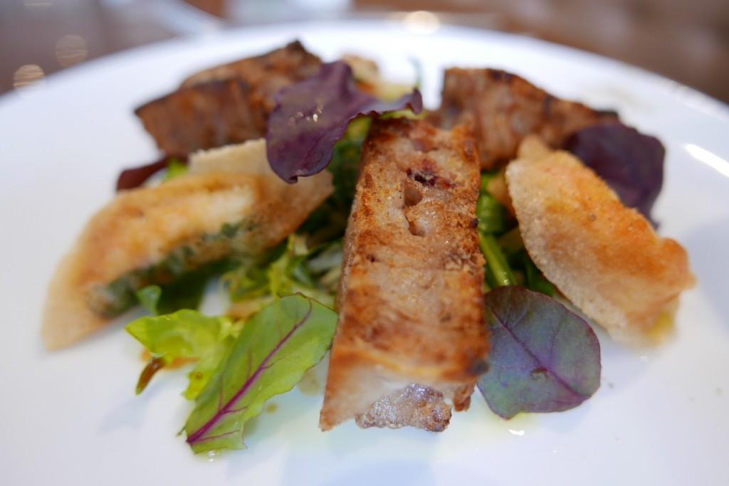 Pieds de porc au cidre et croustillants de langoustine ©GP