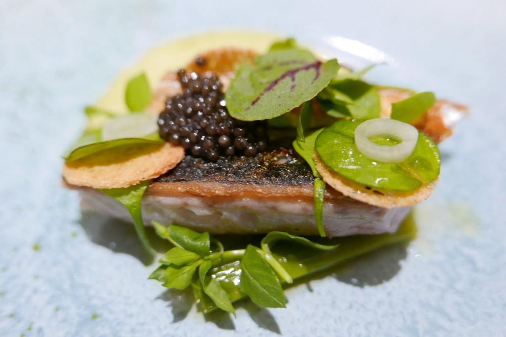 Maquereau et caviar © GP